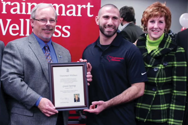 Trainsmart Wellness Award